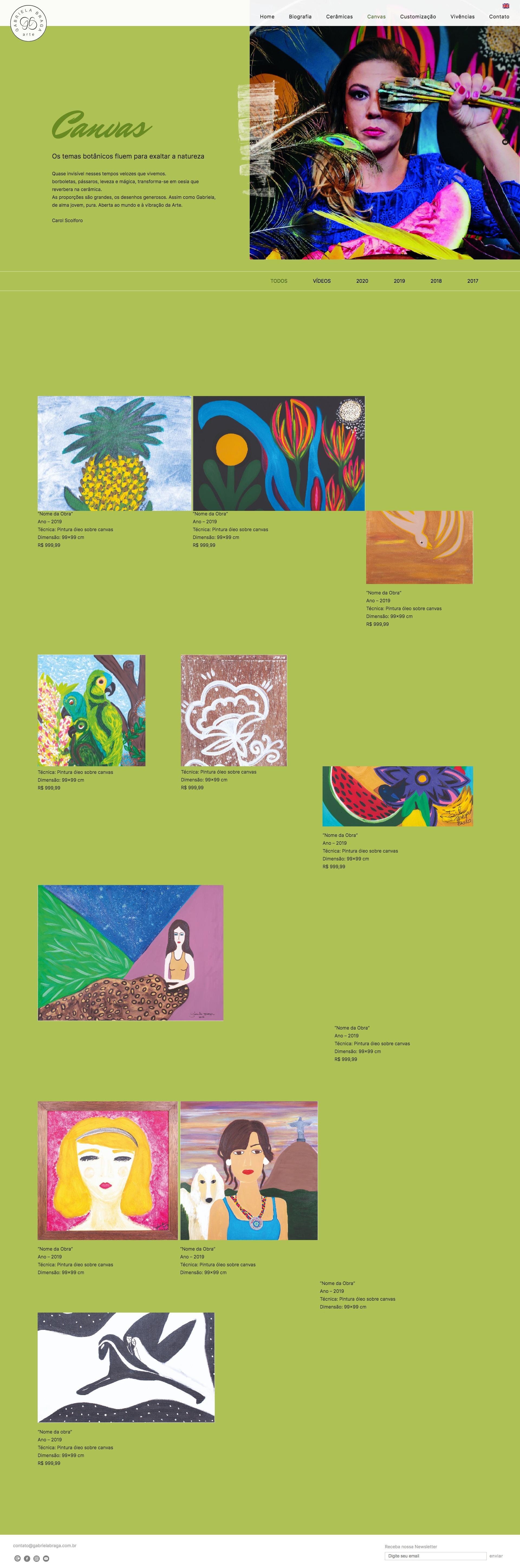 Canvas – Gabriela Braga