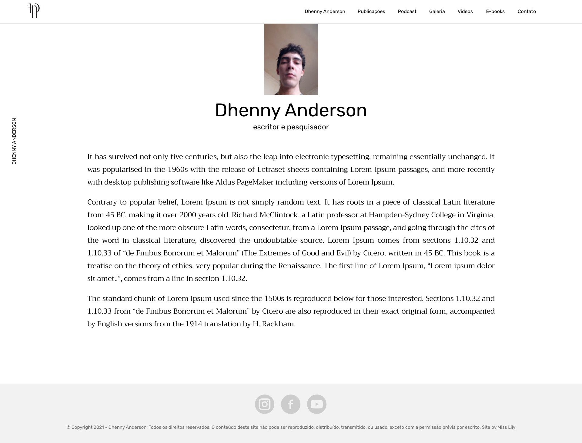 Dhenny Anderson - Dhenny Anderson